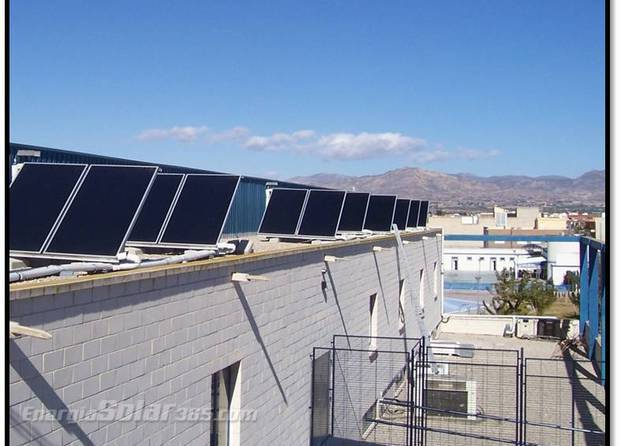 Im genes de tecnovasol energ a solar for Piscina municipal alicante