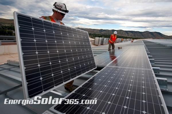 Energía solar, también con lluvia