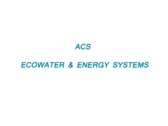 ACS Ecowater & Energy Systems