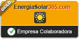 Sello Gold Energiasolar365